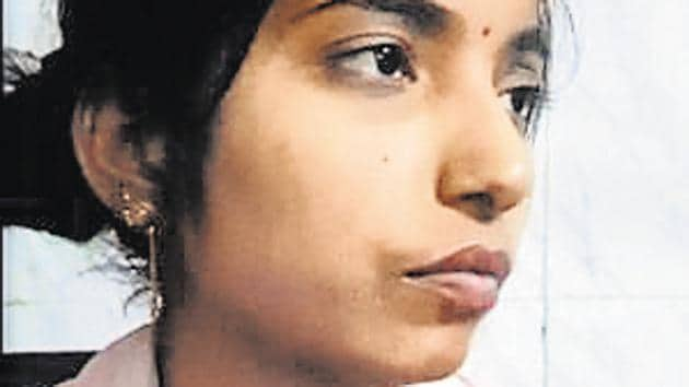 Neetu had gone missing from her house on April 6, in Noida.(Sunil Ghosh/HT Photo)