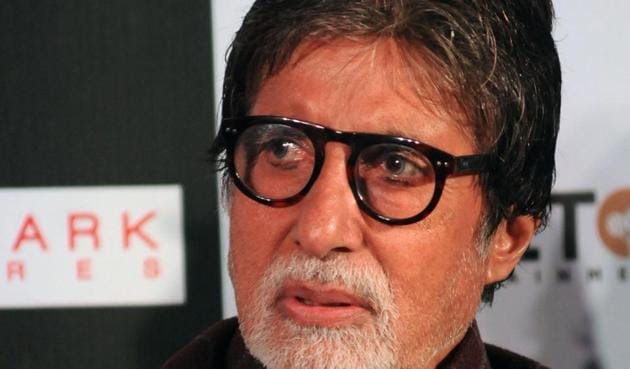 Amitabh Bachchan's 102 Not Out hits theatres on Friday, May 4,.(AFP)