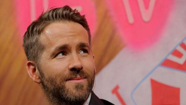 Actor Ryan Reynolds is honored as Hasty Pudding Theatricals Man of the Year at Harvard University in Cambridge, Massachusetts, U.S. February 3, 2017.(REUTERS)
