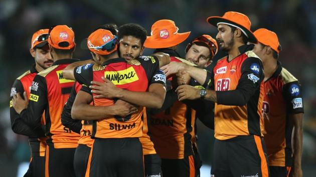 Live streaming of Sunrisers Hyderabad (SRH) vs Delhi Daredevils (DD), IPL 2018 match at the Rajiv Gandhi International Cricket Stadium in Uppal, Hyderabad was available online. SRH go on top of the table with a seven-wicket win over Delhi Daredevils.(BCCI)