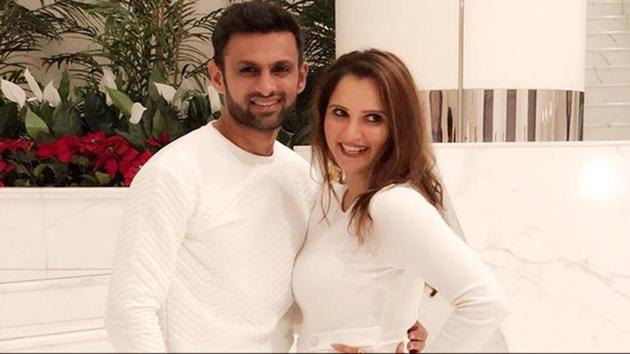 Sania Mirza, who got married to Pakistan cricketer Shoaib Malik in 2010, announced her pregnancy last month. She is confident of making a comeback after her pregnancy.(Twitter)