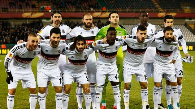 Besiktas maintained they should have been awarded an automatic victory and did not turn up to the resumption, arguing Fenerbahce were behind the violence.(Getty Images)
