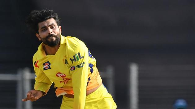 Chennai Super Kings spinner Ravindra Jadeja picked three crucial Royal Challengers Bangalore wickets in IPL 2018 on Saturday.(AFP)
