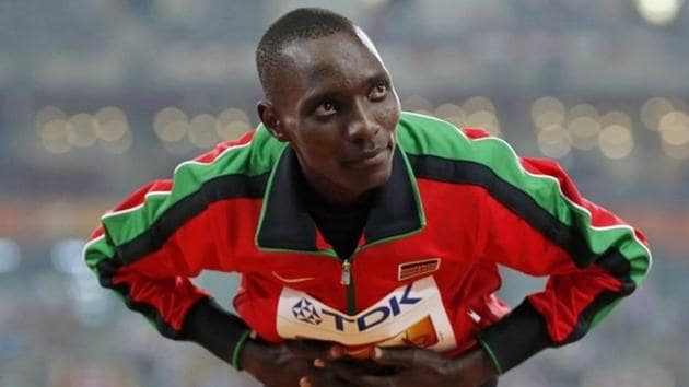 Kenya's former Olympic and world 1,500 metres champion Asbel Kiprop said he was traumatised by the news that he failed a doping test.(REUTERS)