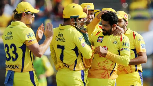 Chennai Super Kings spinner Ravindra Jadeja was named Man of the Match for his performance against Royal Challengers Bangalore in an IPL 2018 game in Pune on Saturday.(PTI)