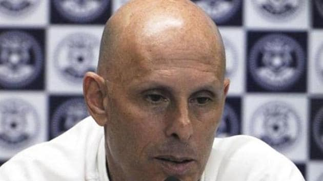 Stephen Constantine believes India have the ability to qualify for the knockout stage of the 2019 AFC Asian Cup.(HT Photo)
