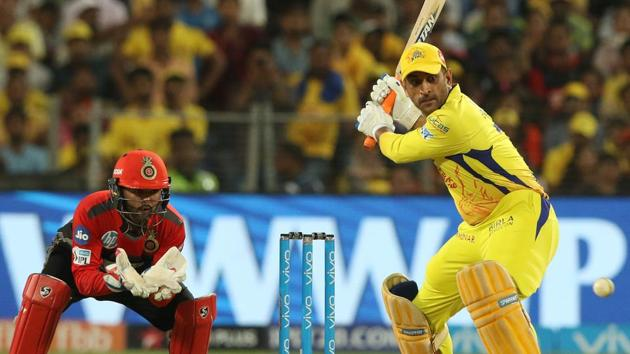 Get highlights of Chennai Super Kings (CSK) vs Royal Challengers Bangalore (RCB), IPL 2018 game, here. MS Dhoni scored an unbeaten 31 to helped CSK get over the finishing line.(BCCI)