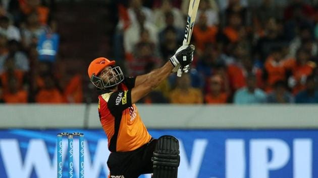 Get highlights of Sunrisers Hyderabad vs Delhi Daredevils, IPL 2018 here. Yusuf Pathan's aggressive cameo helped SRH win by seven wickets against DD and go on top of the table.(BCCI)
