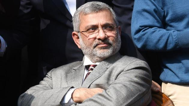 File photo of Supreme Court judge Justice Kurian Joseph at a press conference in New Delhi.(HT Photo)