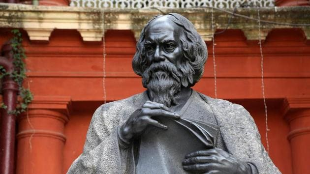The painting exhibition is part of the Tagore Festival which runs from May 3 to 7 to commemorate the birth anniversary of Tagore.(Shutterstock)
