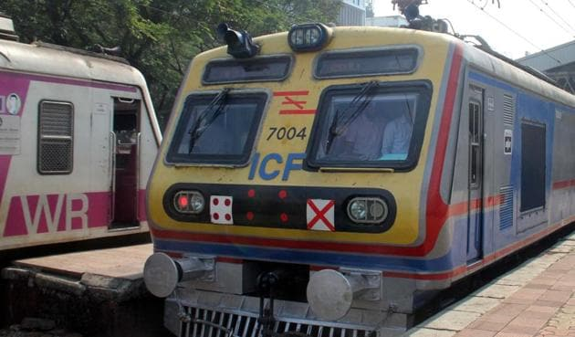 Currently, the Western Railway operates 12 services of the AC train between Churchgate and Virar stations.(HT File Photo)