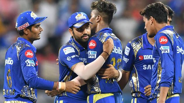 Mumbai Indians rode Hardik Pandya's all-round performance to beat Kolkata Knight Riders in the Indian Premier League (IPL) 2018 on Sunday.(AFP)