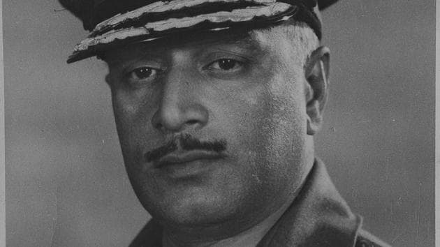 Former Indian Army chief General Kodendera Subayya Thimayya.(HT Archives)