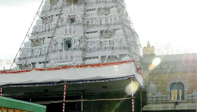 Lord Venkateshwara temple in Tirumala.(PTI File Photo)