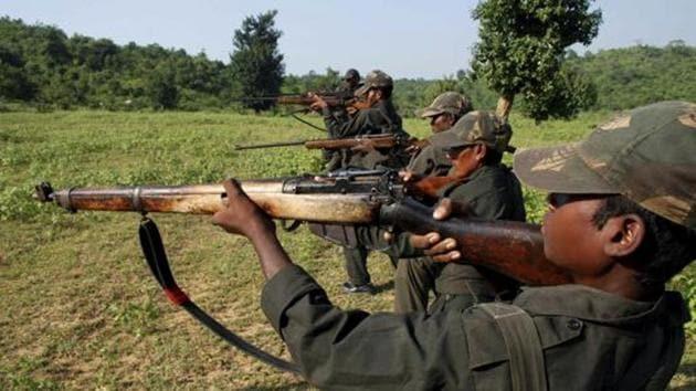 Maoist rebels train in a forest area at Dumariya block in Gaya district, in Bihar(AP File Photo)