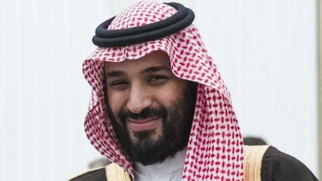 Saudi Crown Prince and Defense Minister Mohammed bin Salman, (MBS), in Moscow's Kremlin, Russia.(AP File Photo)
