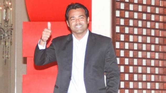 Leander Paes recently made headlines when he recorded his 43rd doubles win in the Davis Cup tie against China, the most by any player in the world.(IANS)