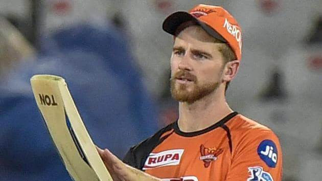 Sunrisers Hyderabad captain Kane Williamson took over the team's reins after David Warner was removed following his involvement in the ball-tampering scandal.(PTI)