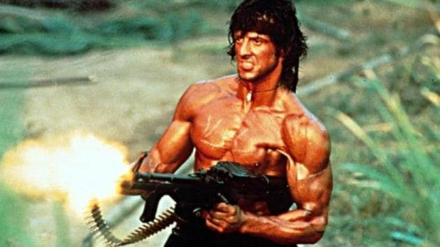 Sylvester Stallone has starred in four Rambo movies.