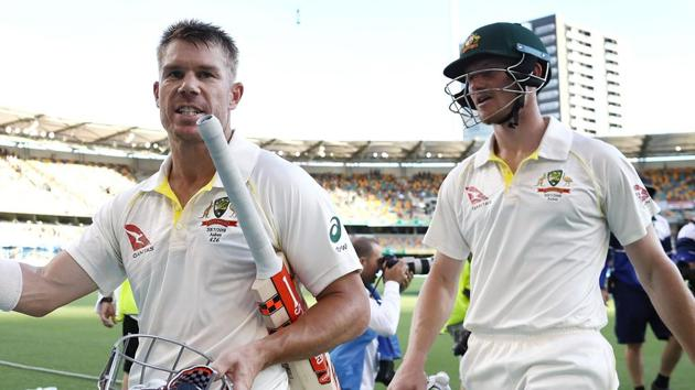 David Warner (L) and Cameron Bancroft currently remain suspended from international duty following their involvement in the ball-tampering incident in South Africa.(Getty Images)