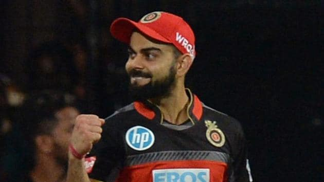 Royal Challengers Bangalore captain Virat Kohli made his ODI debut for India in 2008.(AFP)