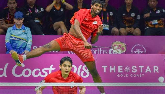 India's mixed doubles pair of Ashwini Ponnappa and Satwiksairaj Rankireddy forged by coach Tan Kim Her just months ago, played a key role in the team winning the mixed team gold at the 2018 Commonwealth Games in Gold Coast by beating Malaysia for the first time at the CWG(PTI)