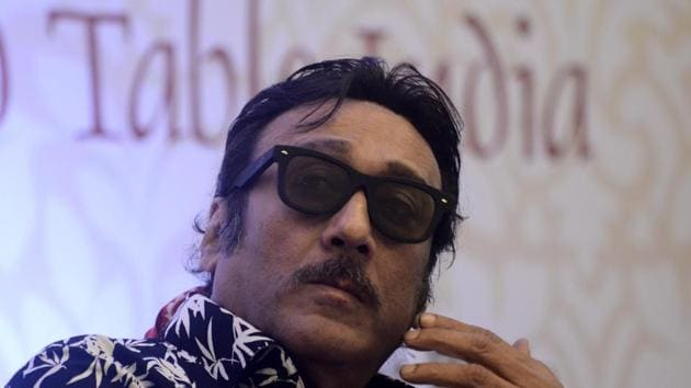 Jackie Shroff has worked in films like Maayavan and Aaranya Kaandam in the past.(Ravindra Joshi/HT Photo)