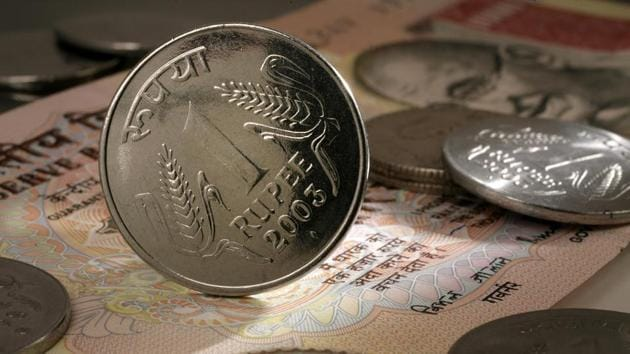 The rupee had closed at 66.86 against the US dollar on Friday.(Scott Eells/Bloomberg)