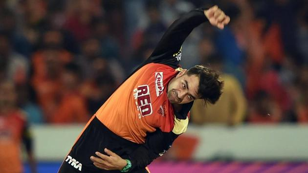 Wrist spinners like Rashid Khan have excelled in IPL 2018.(PTI)