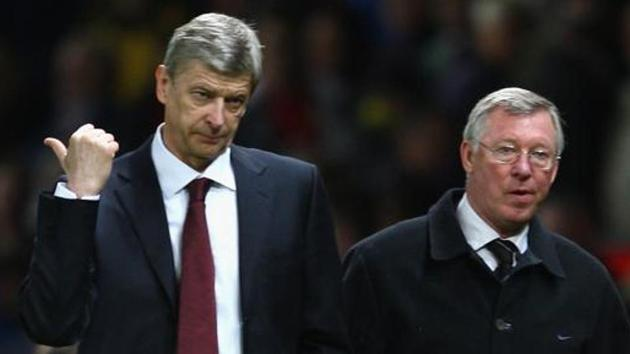 Arsene Wenger went up against Sir Alex Ferguson many a times in the Premier League.(Getty Images)