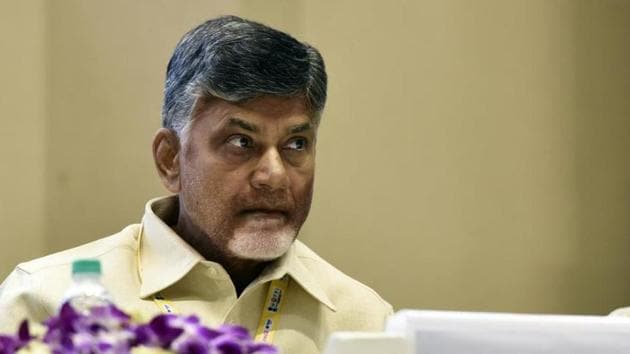 Andhra Pradesh Chief Minister N Chandrababu Naidu is hosting the finance ministers of five states not governed by the BJP.(Mohd Zakir/HT file photo)
