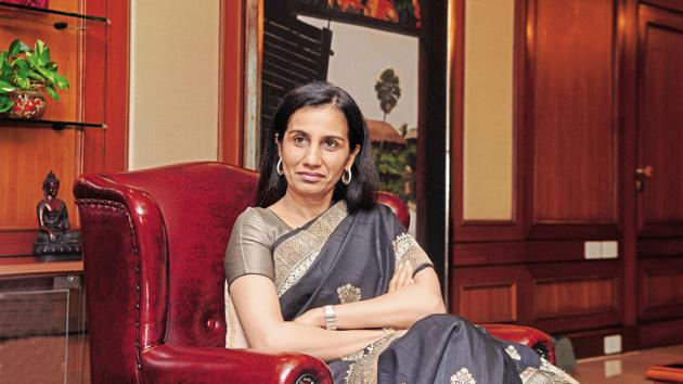 ICICI Bank's soured assets have weighed on the bank's shares, which are the worst performers among private-sector peers since May 2009, when Kochhar took over as CEO.(Hemant Mishra/mint)