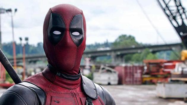 Ryan Reynolds as Deapool in Deadpool 2.