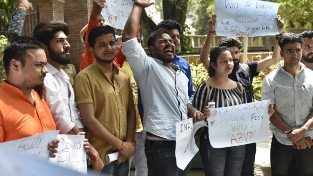 Students complain that every year, many students are not allowed to take exams, and the faculty should take serious note of the issue.(HT/File Photo)