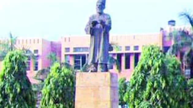 A file photo of the Jamia Millia Islamia University.(PTI)