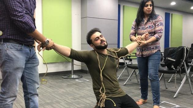 In a hilarious spoof, Gurugram's corporate employees rap about the daily stress in their working life.