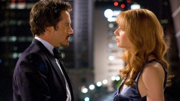 Pepper Potts always knew that Tony Stark had a heart.