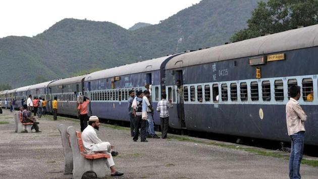 A train at Majgaon in Assam.(HT File Photo)