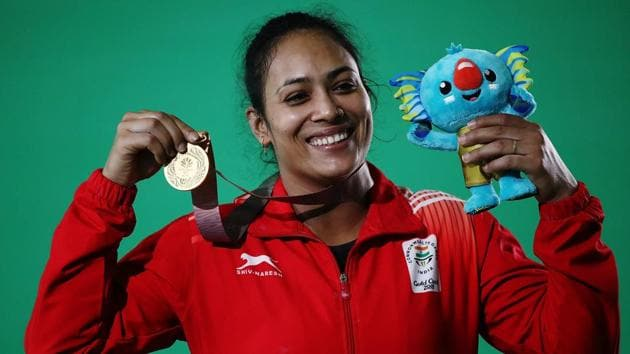 Punam Yadav won gold medal in women's 69kg category in weightlifting at the Gold Coast 2018 Commonwealth Games.(Getty Images)