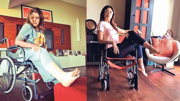 (LtoR) Farah Khan and Shilpa Shetty.