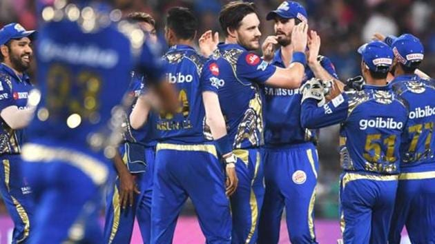 Mumbai Indians have 10 points from 11 matches ahead of their Indian Premier League (IPL) 2018 match against Rajasthan Royals.(AFP)