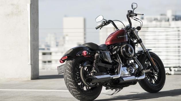 Most of the critical components on this bike are the same as those on the standard Forty-Eight.