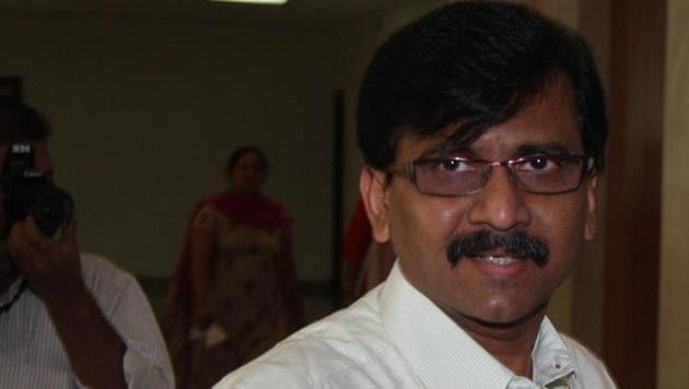 File photo of Shiv Sena leader Sanjay Raut.(HT Photo)