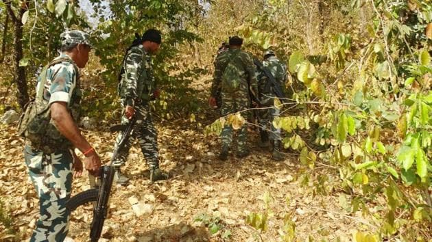In March, police in Narayanpatna block engaged Maoists in a fire exchange during which for women cadre of the rebels were killed.(HT File Photo)