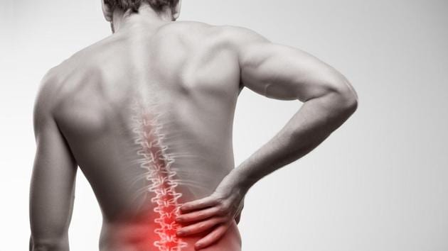 Lower back pain can be reduced by practicing certain exercises.(Shutterstock)