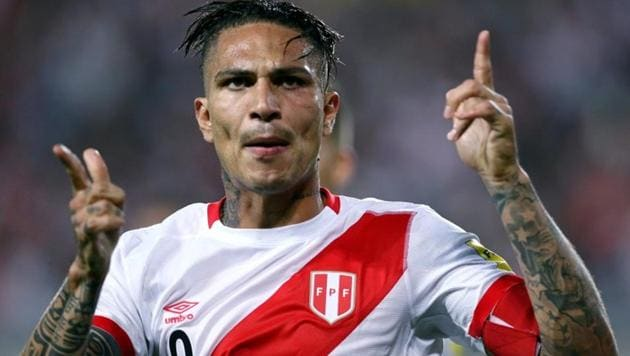 Peru captain Paolo Guerrero will miss FIFA World Cup 2018 because of a positive doping test.(REUTERS)