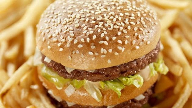 Police registered a case and arrested the shift manager of the burger outlet.(Photo for representation)
