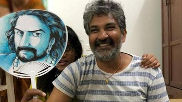 Baahubali franchise is the most ambitious venture SS Rajamouli has attempted so far in his career.(Ssrajamouli/Instagram)