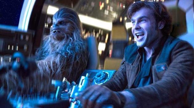 Alden Ehrenreich stars as Han Solo in Solo: A Star Wars Story.