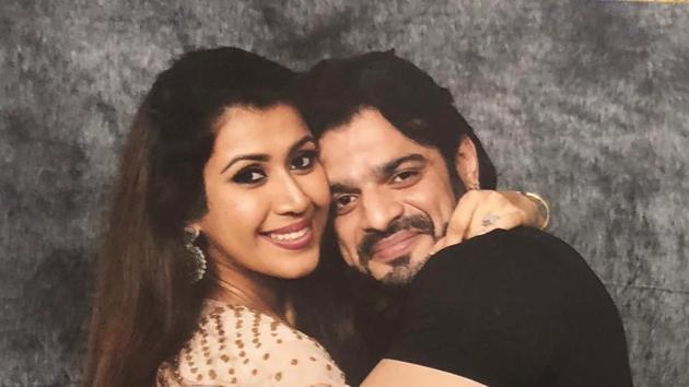 Karan Patel and Ankita Bhargava will welcome their baby in November.(Instagram)